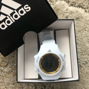 NWT White Adidas Watch